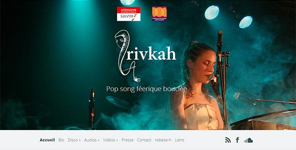 Rivkah, musicienne, artiste