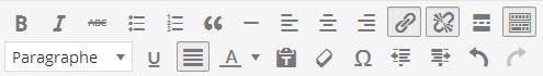 créer ou supprimer un lien hypertexte wordpress